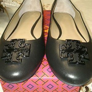 Tory Burch Leather Flats